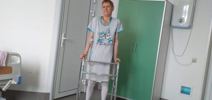 Tanya at hospital